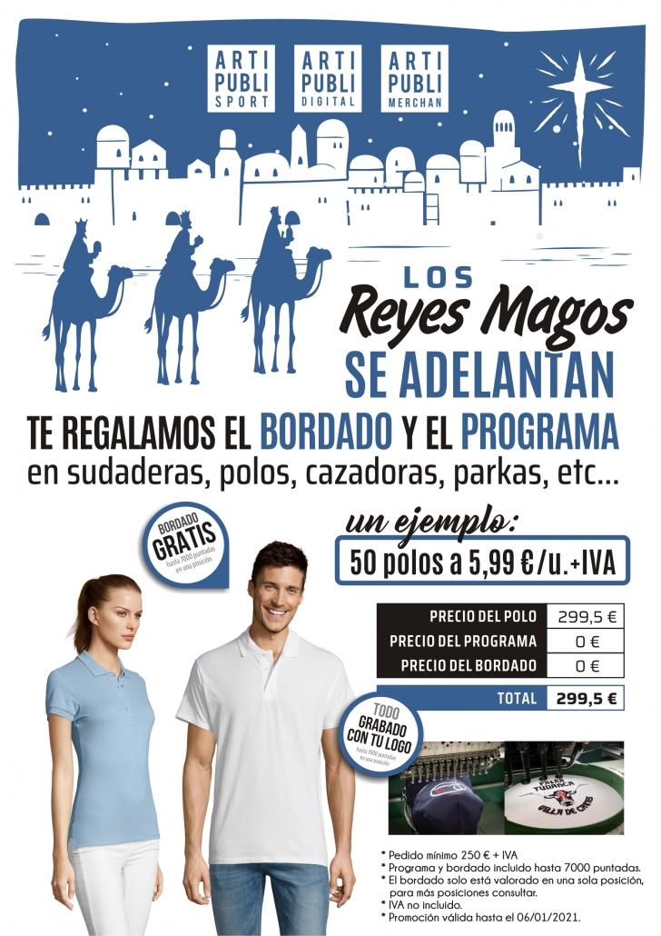 LOS REYES MAGOS SE ADELANTAN